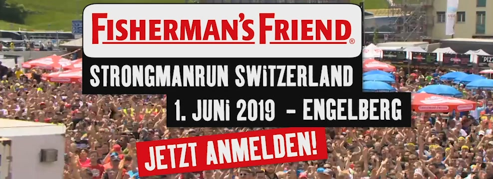 Fisherman's Friend Strongmanrun Switzerland 01.06.2019