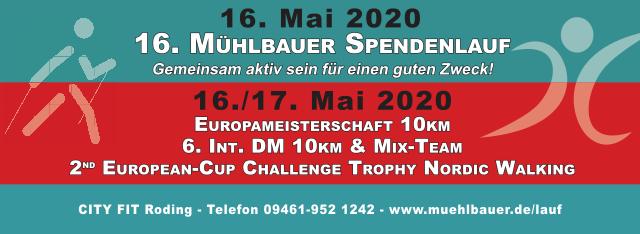 EM, 6. Intl. DM & E-C Challenge Trophy-10km (NW) & 16. Mühlbauer Spendenläufe